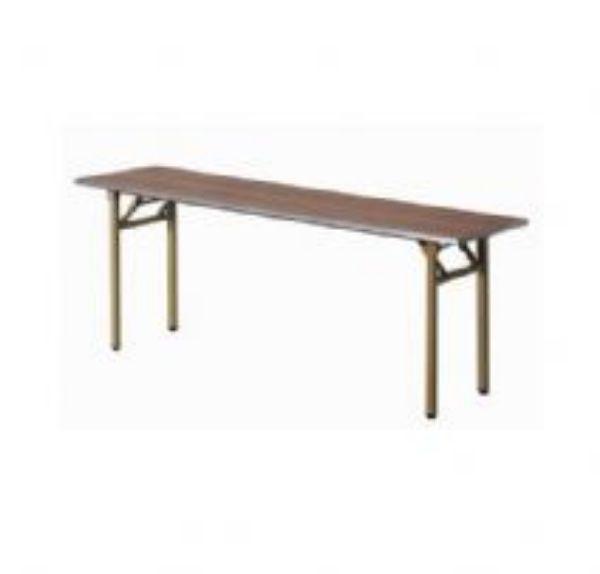 שולחן רגל מתכת מתקפלת עם מסגרת