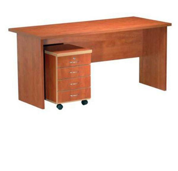 שולחן מזכירה כולל ארגז מגירות נייד-169