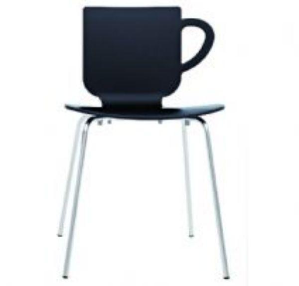 כסא קפיטריה/מסעדה - רגליים ניקל