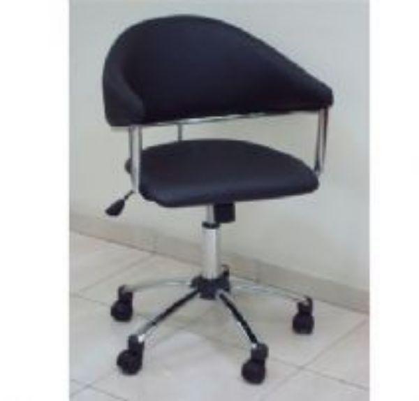 כסא מזכירה תמר שחור