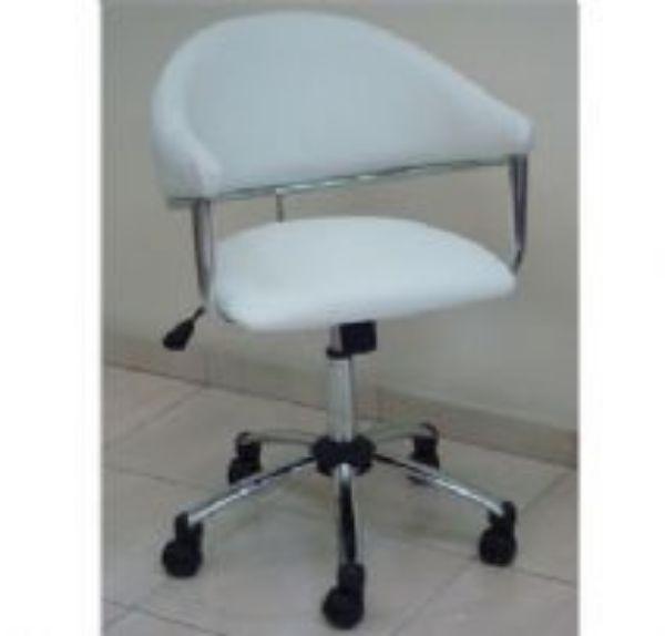 כסא מזכירה תמר לבן