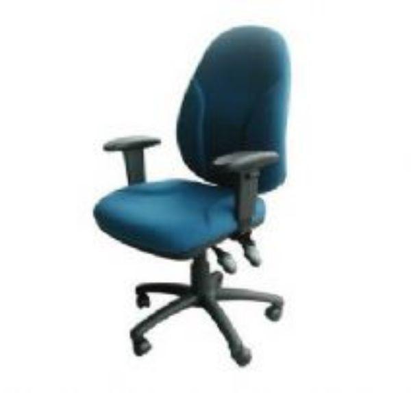 כסא מזכירה גל ידיות מתכווננות