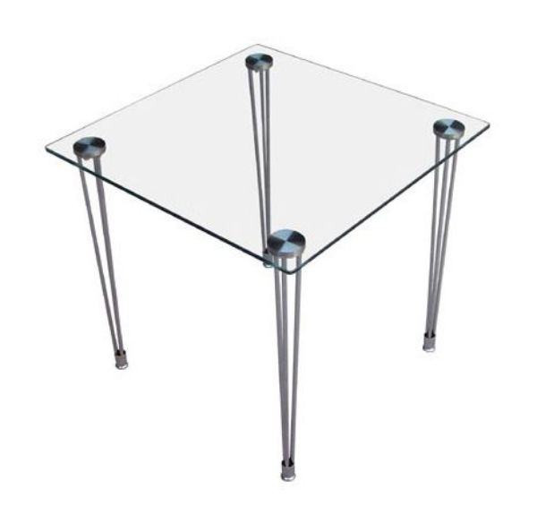 שולחן המתנה מרובע-246