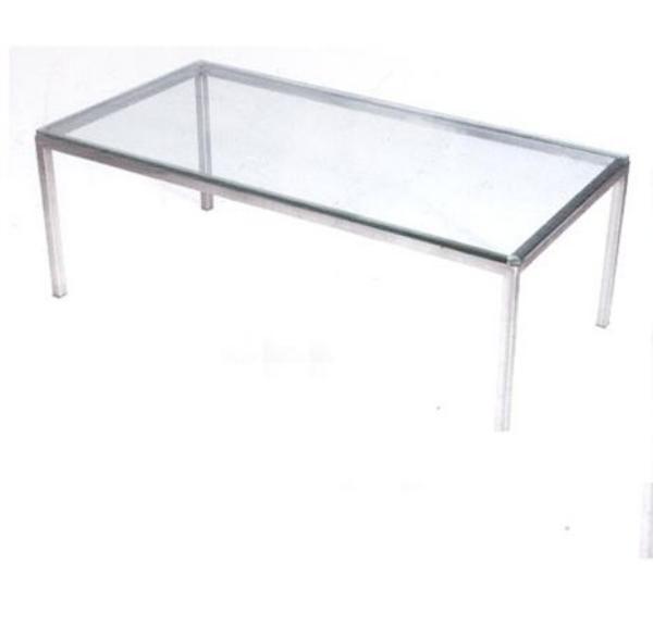 שולחן המתנה מלבן זכוכית-245