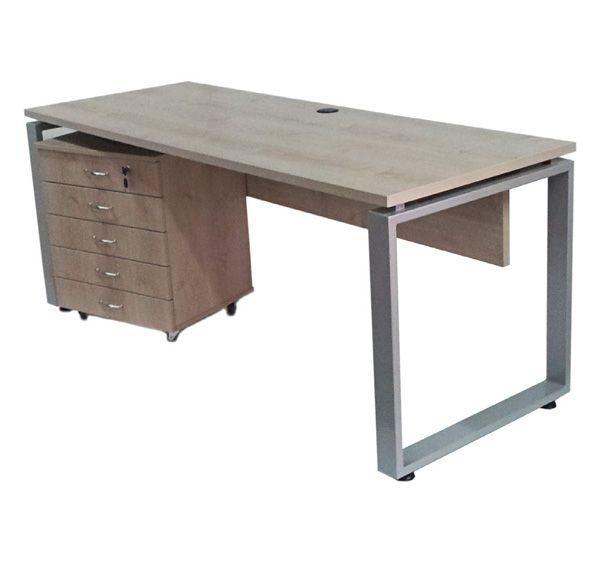רועי שולחן מנהל עם ארגז מגירות-584